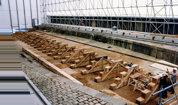 Juin 1997 les installations sont dressées