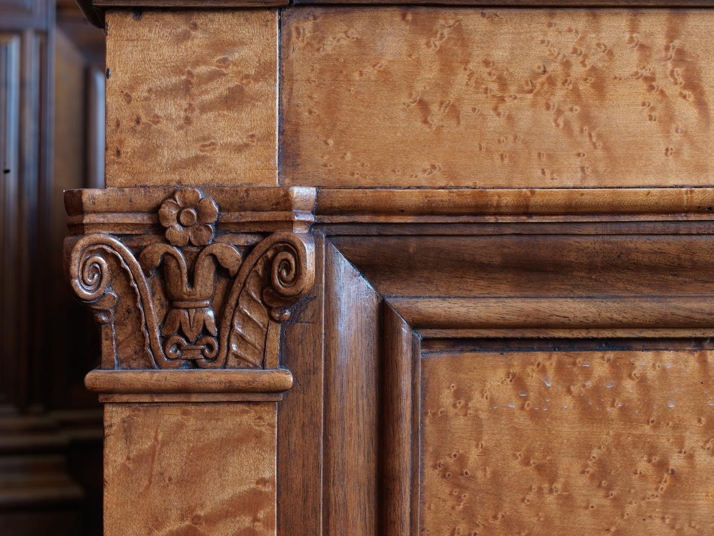 restauration boiseries palais de justice lyon