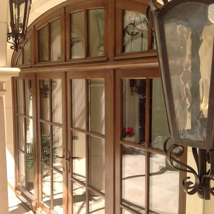Création de fenêtres pour une résidence aux États-Unis