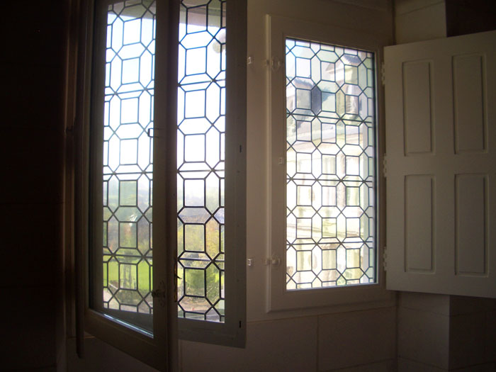 Fenêtres portefeuilles Chateau de Mesnières en Bray