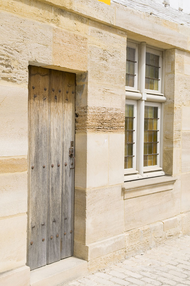 Maison à pans de bois à Contrisson en Lorraine