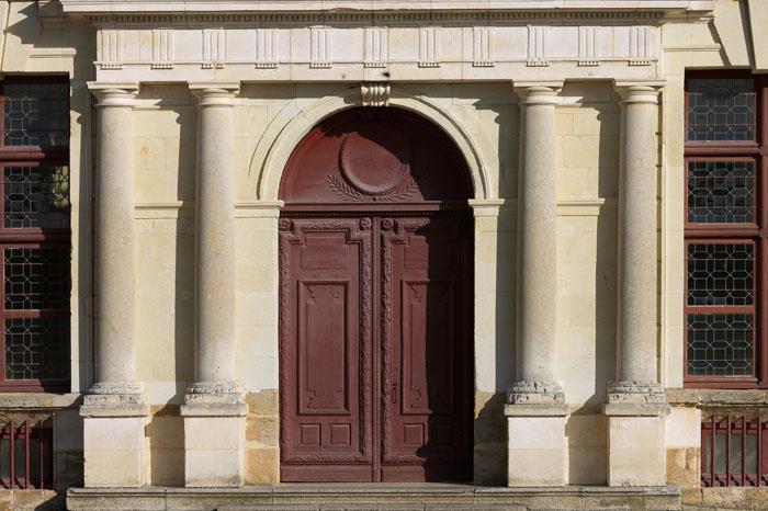 Porte au château de Thouars