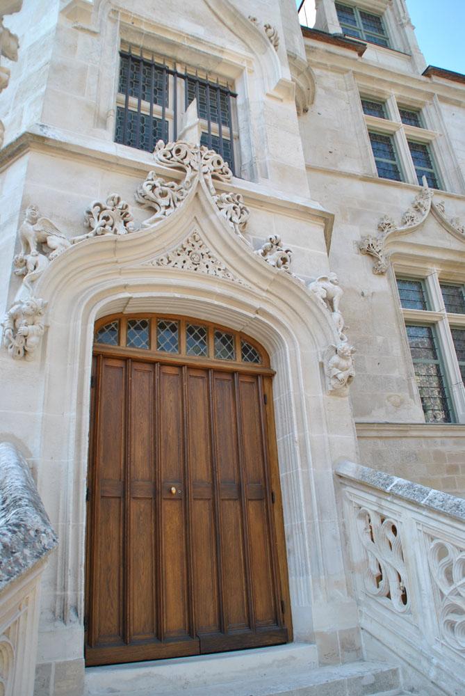 Porte au musée départemental de Beauvais