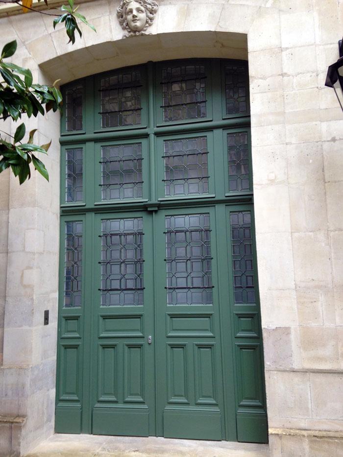 Porte cochère à Paris