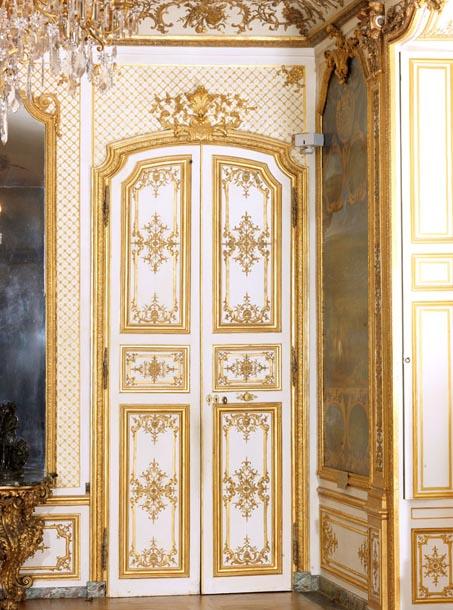 Portes intérieures au château de Chantilly