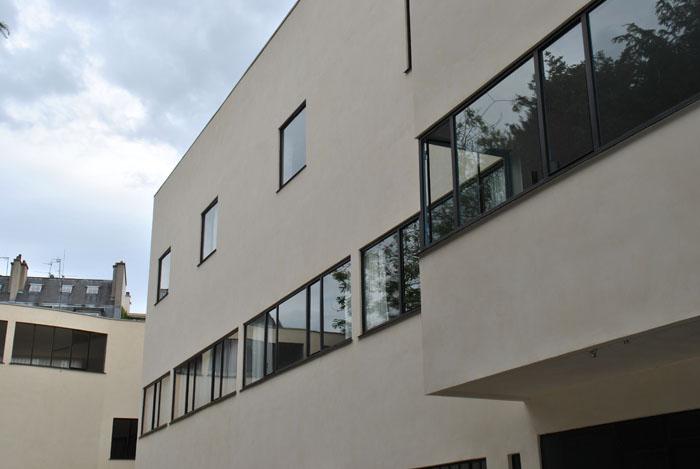 Restauration des fenêtres métalliques de la Fondation Le Corbusier