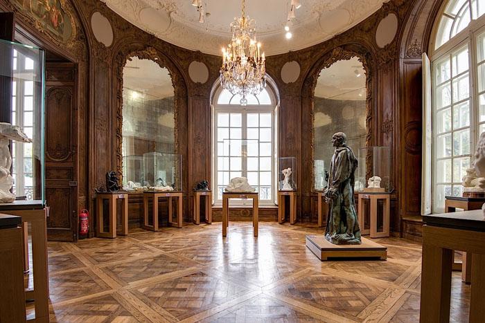 Restauration du parquet du musée Rodin à Paris