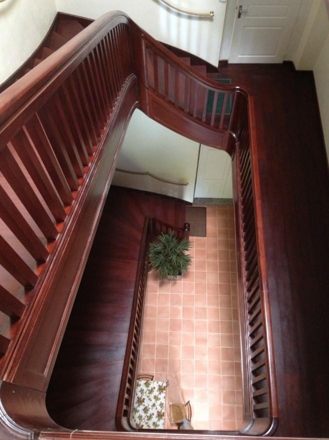 Restitution de l'escalier de l'Immaculée Conception à La Réunion