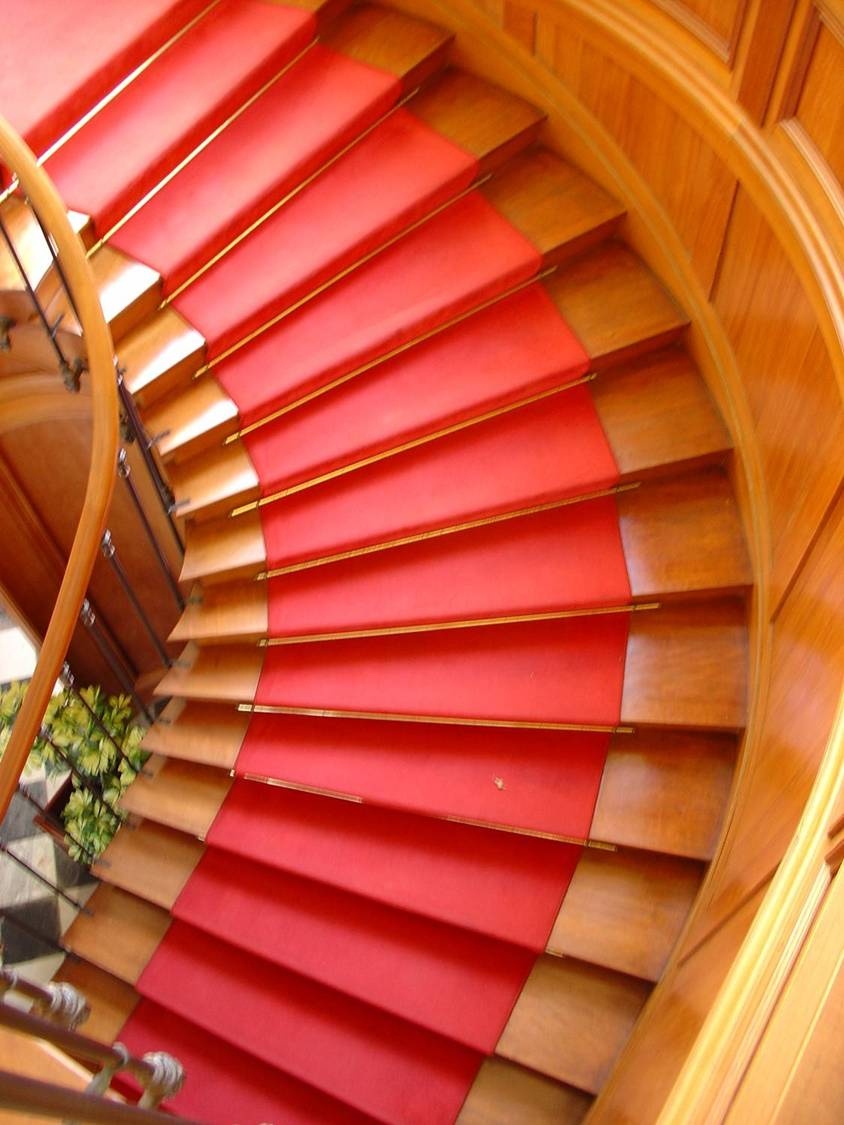 Restitution de l'escalier de l'hôtel de ville de Saint Denis à la Réunion
