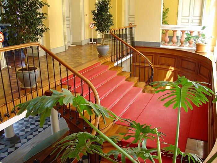 Restitution de l'escalier de l'hôtel de ville de Saint Denis de la Réunion