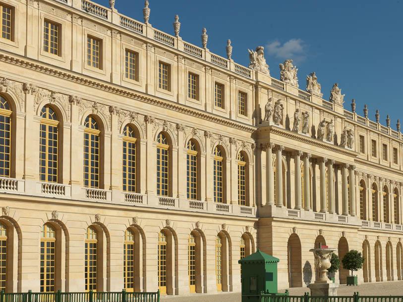 restauration de fenêtres du château de versailles